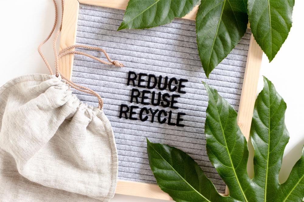 Green Thinking - Reducing Waste